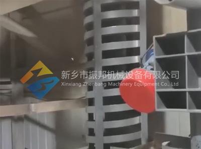垂直振动输送机试机现场视频